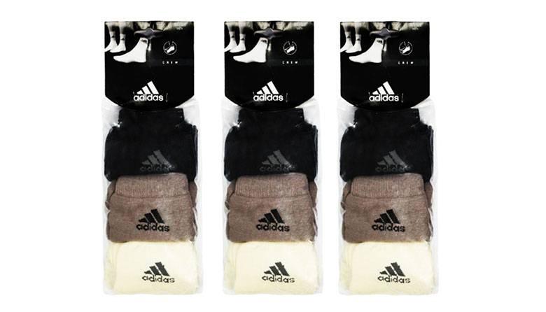 阿迪达斯运动短袜 九双 团购价只要$15.2到手!