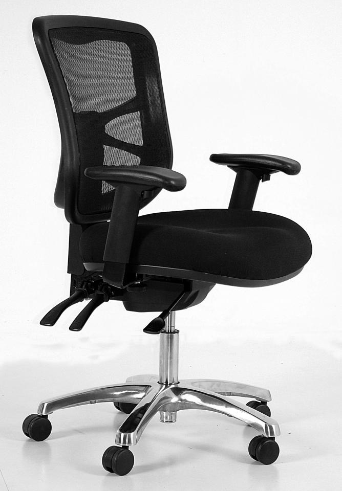 Buro Metro 可调节扶手 工作椅-黑色 只要$259!