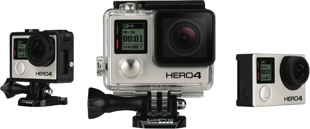 GoPro Hero4 Black版 高清4K运动摄像机 折后$540!