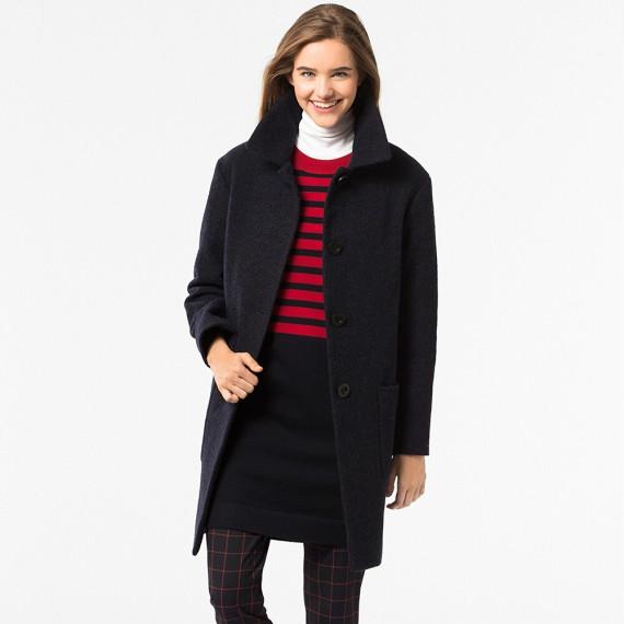优衣库女士羊毛混纺外套  $99.90