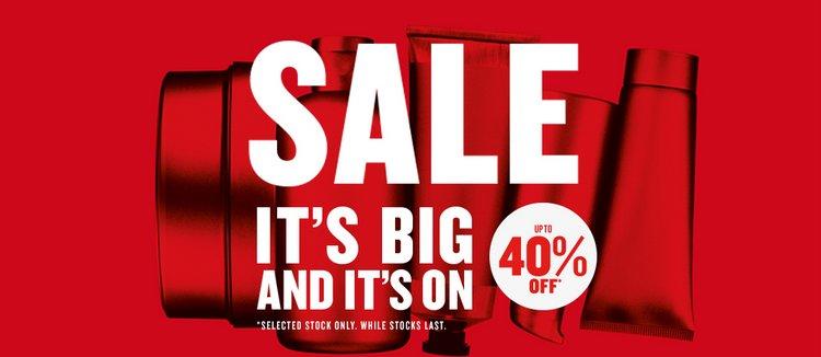 The Body Shop/美体小铺 澳洲官网活动:部分商品低至六折!