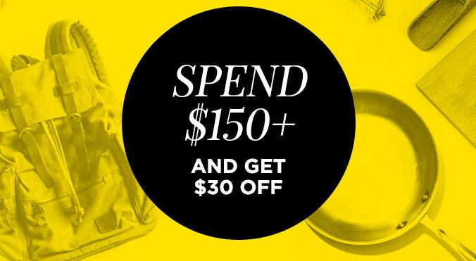 Scoopon商品类团购满减活动:最多额外再减$30!