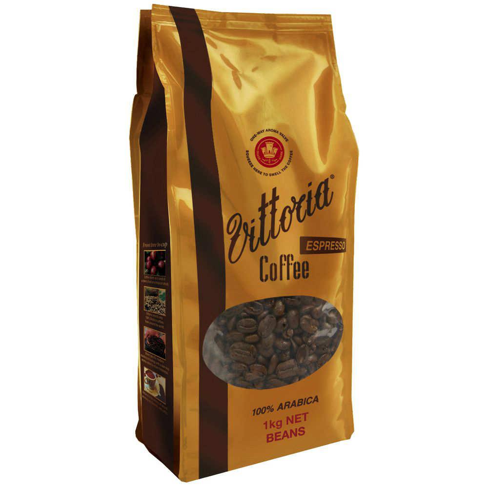 Vittoria  深烘焙咖啡 1kg装 $33.97 !