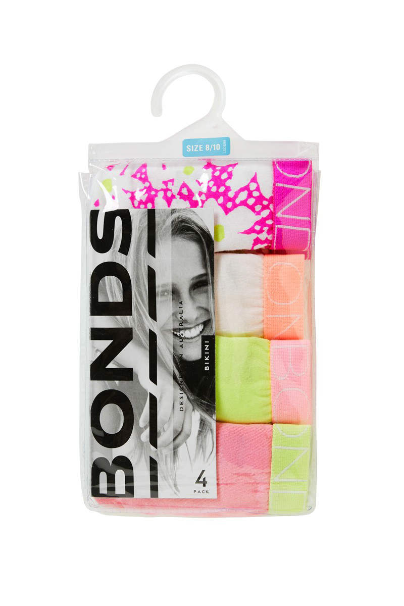 BONDS 比基尼4包装  $9 !