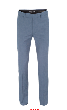 CADEN STEEL浅蓝色男士礼服西裤 现价$49.99!