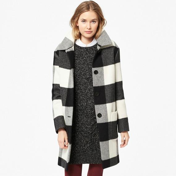 Uniqlo/优衣库 女士羊绒混纺毛呢外套 长款  $99.90