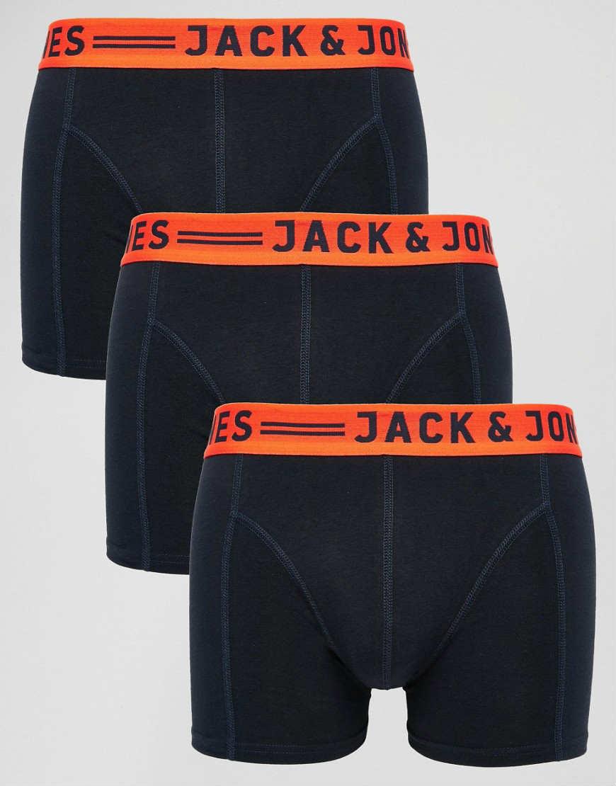 Jack & Jones 男士平角内裤3条装  $30.00