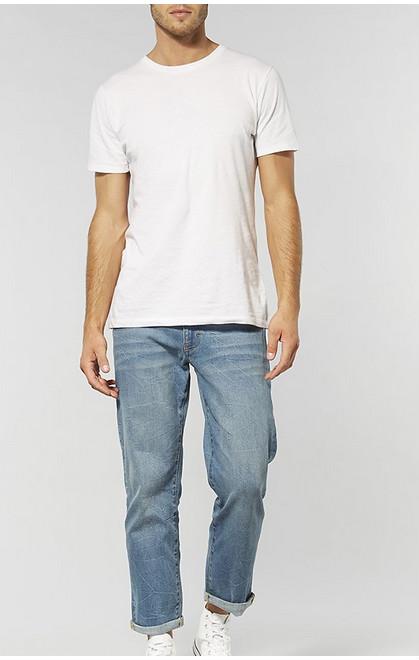 Lee Jeans 男士新泽西蓝色牛仔裤 $149.95