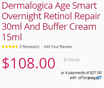 Dermalogica 视黄醇夜间修护霜和舒缓霜套装 现价8!