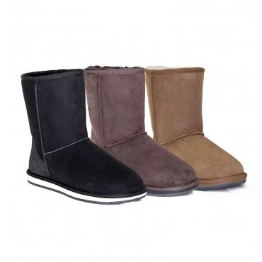 经典UGG短靴-男女均适合 团购价$79!