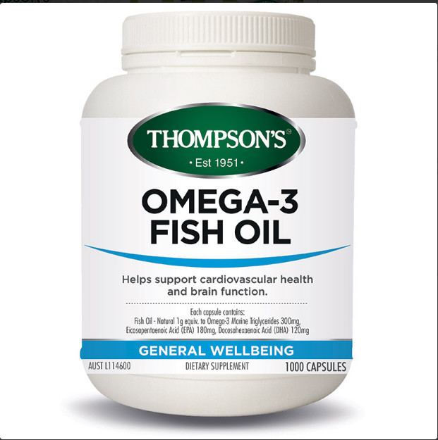 Thompson's Omega 3 深海鱼油1000粒  $39.99