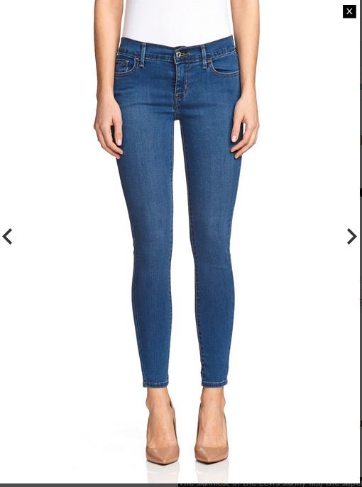 Levi's 710 超显瘦小脚女子牛仔裤  $99.95