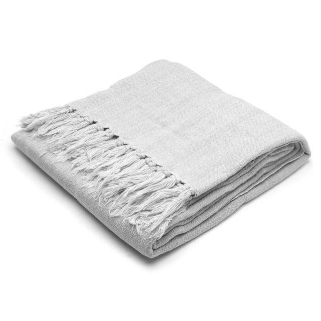 Linen &  Moore  家居装饰地毯 – 浅灰色 现价$107!