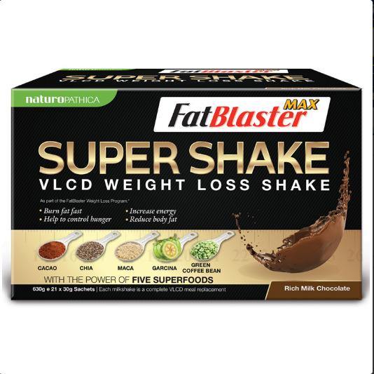 FatBlaster 天然减肥瘦身/纤体奶昔21包巧克力味  $32.99
