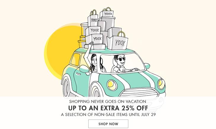奢侈品特卖网站YOOX Non-Sale 类商品 低至七五折!