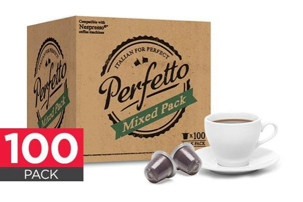 Perfetto Nespresso 混合咖啡100包  $32