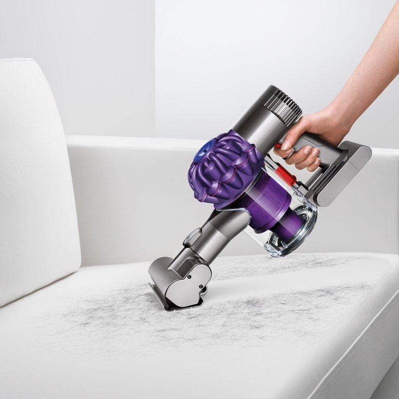 Dyson/戴森 – V6 Animal Handstick 无线款真空吸尘器 宠物版-紫色 折后$439!