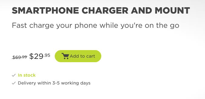TomTom 车载手机充电支架 现价.95!