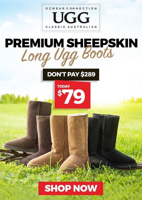 OZWEAR UGG 雪地靴 仅从$79起!多款、多色可选
