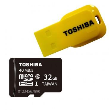 TOSHIBA/东芝 32GB Micro SD卡 或 32GB U盘 折后只要$8!