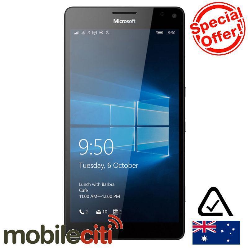 微软 Lumia 950XL 黑色版 折后$557!