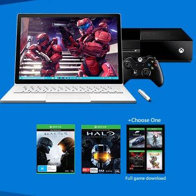 微软澳洲官网:购买部分Surface 系列产品可免费获得价值$648的XBox One 1TB版及三个游戏!