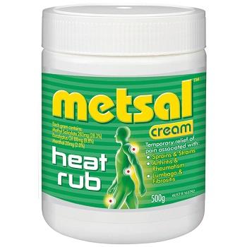 Metsal按摩霜 500g 现价$18.99!