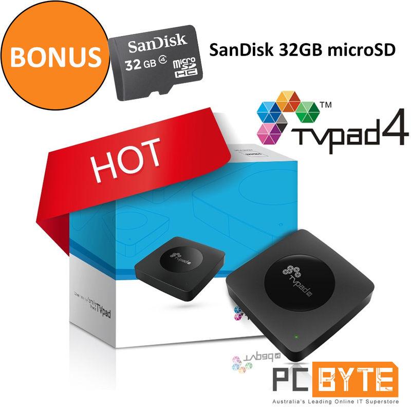 TVPAD 4 智能高清网络电视盒子 折后$197!