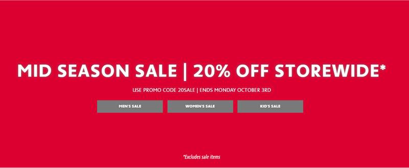 休闲运动品牌 Lacoste 全网所有商品 八折优惠!
