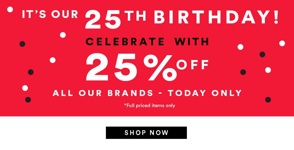 澳洲品牌 Cotton On 周年庆:所有全价商品 七五折优惠!