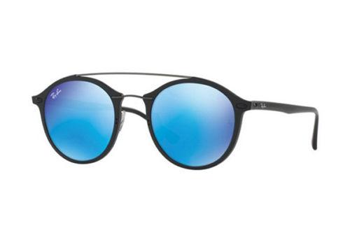 RayBan/雷朋 RB4266 601S55 黑色圆框太阳镜 现价$199!