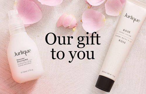 在Jurlique/茱莉蔻 澳洲官网购物满$95 将免费获得玫瑰衡肤水或玫瑰护手霜一份!