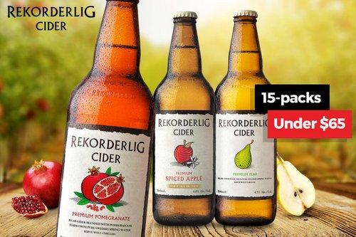REKORDERLIG 瑞典产果酒 500mL*15瓶 只要$64.99!