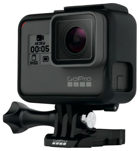 GoPro HERO 6 Black 运动摄像机 4K60帧 裸机防水 8折优惠!用码后只要$479!