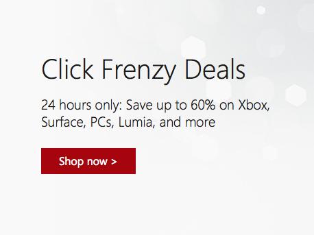 微软官网 澳洲网购节活动:Xbox、Surface、Lumia等产品均有折扣!部分商品低至四折!