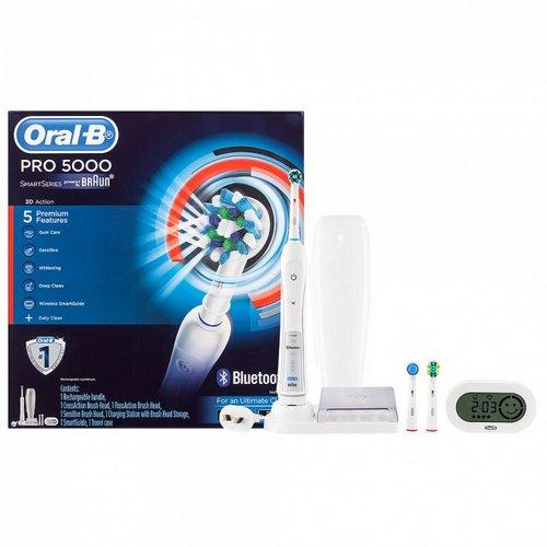博朗 Oral-B Pro 5000 专业护理声波电动牙刷 折后$81!