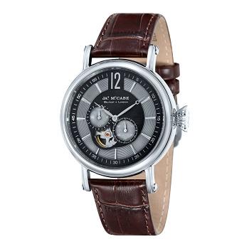 James McCabe Lurgan系列皮革表带手表 团购价$129!