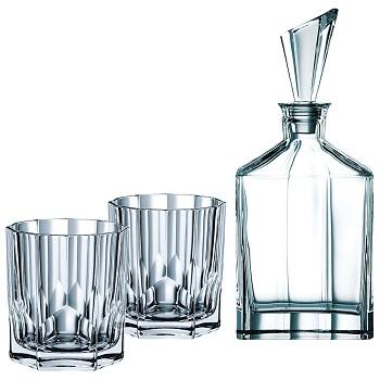 Nachtmann Aspen威士忌酒具三件套 现价$79!