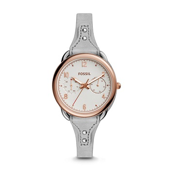 Fossil TAILOR多功能女士手表 现价$160.30!