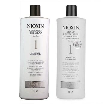 Nioxin 1号防脱发洗发水和护发素 折后$51!
