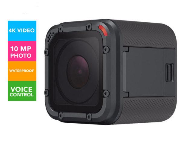 GoPro Hero5 Session 4K高清 运动摄像机 现价$399!