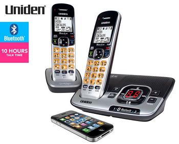 Uniden DECT 3136BT+1蓝牙无绳电话子母机 现价$69!