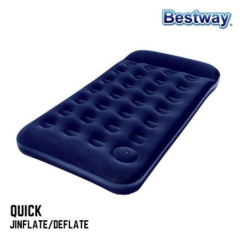 Bestway 充气床垫 Single Size 折后只要$23.9!