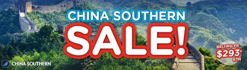 BYOjet 南航机票特惠:悉尼至北京往返机票用码后仅从$218起!
