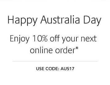 Jurlique/茱莉蔻官网 澳洲国庆节活动:全场所有商品额外9折优惠!