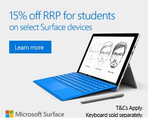 学生、学生家长在微软澳洲官网购买 Surface 系列产品 低至85折!