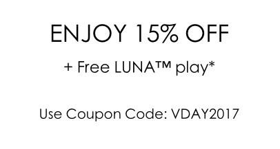 Foreo 官网情人节活动:全场所有商品均享85折优惠!满$199 免费送 LUNA Play 洁面仪一个!