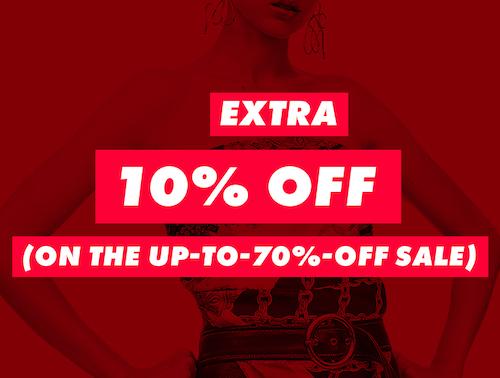 时尚网站 ASOS 特价活动:折扣类商品在低至3折的基础上 –