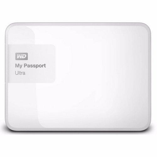 西部数据/WD My Passport Ultra 2TB 2.5″ 移动硬盘 白色版 只要$111!