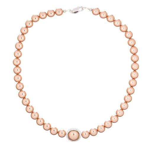 施华洛世奇元素玫瑰金色项链 只要$64!